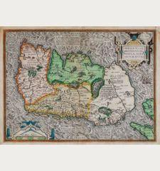 Eryn. Hiberniae, Britannicae Insulae, Nova Descriptio. Irlandt