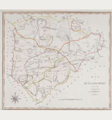 A Map of Rutlandshire from the best Authorities