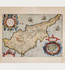 Cypri Insulae Nova Descript. 1573