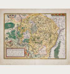 Lutzenburgen sis Ducatus Veriss. Descript. Iacobo Surhonio Montano auctore.