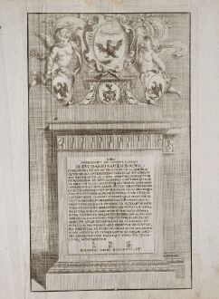 Graphics, Weigel, Title Pages, 1718: Viro Noblissimo et Consultissimo D. Euchario Gottlieb Rink