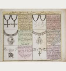 Andere historische Ritter-Orden Charte...