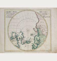 Facies Poli Arctici adiacentiumque ei regionum ex recentissimis itinerariis delineata cur Chrisophori Weigelii, Norib