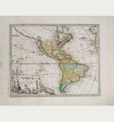 Novi Orbis sive Totius Americae cum Adiacentibus Insulis Nova exhibitio
