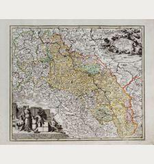 Silesiae Ducatus in XVII suos Principatus et Dominia