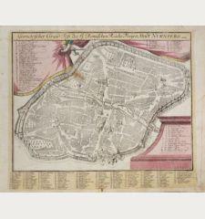 Geometrischer Grund-Riss, des H. Römischen Reichs Freyen Stadt Nurnberg