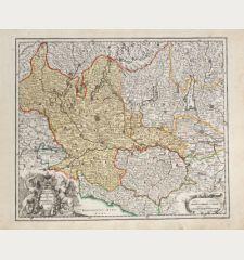 Ducatus Mediolanensis Placentini et Parmensis nova Tabula