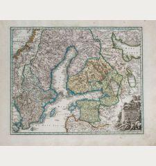 Regnum Sueciae cum ducatu Finniae, Lapponia, Livonia, Nordlandia, Ingria