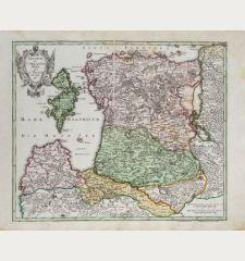 Livoniae et Curlandiae Tabula