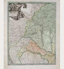 Hungaria cum Adiacentibus Provinciis Nova et Accuratiori Forma Exhibetur