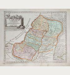 Terra Sancta in XII olim Tribus nunc VI Provincias Dispertita ...