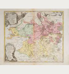 Despriptio Geographica Praefecturarum Doelitsch, Bitterfeld, Zoerbig