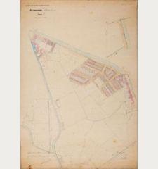 Gemeente Haarlem Sectie E Schaal van 1 à 1250
