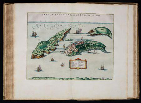 Atlanten, Blaeu, Atlas Italien und Griechenland, 1664-65: Sevende Stuck der Aerdrycks-Beschryving, Welck Vervat Italien en Griecken.