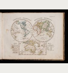 Stieler's Schul-Atlas über alle Theile der Erde nach dem neuesten Zustande, und über das Weltgebäude. Nach Stieler's...