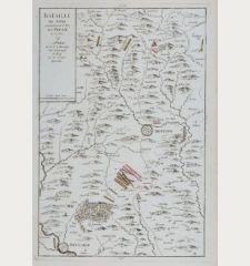 Bataille de Sohr remportée par le Roy de Prusse, le 30 7bre 1745
