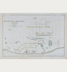 Bataille de Campo Santo en Italie du 8 Fevrier 1743