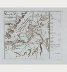 Plan des Camps de Pisek du 27 an 28 Decembre 1741.