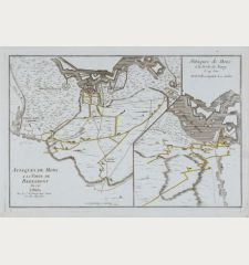 Attaques de Mons a la Porte de Bertamont 1746 / Attaques de Mons a la Porte de Nimy le 24 Juin et la Ville a Capitule le 10...