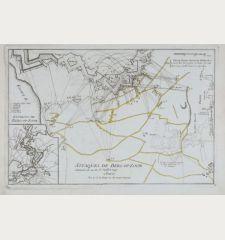 Attaques de Berg-op-Zoom comencées du 14 au 15 Juillet 1747.