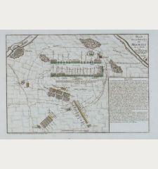 Plan de la Bataille de Molwitz du 10 Avril 1741.