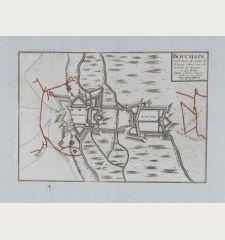 Bouchain Ville Forte du Comte de Hainaut Situee sur la Riviere de Escaut