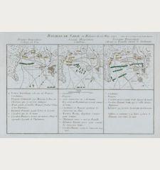 Bataille de Sahay en Boheme du 25 May 1742.