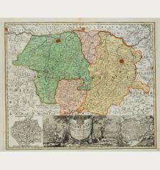 Status Parmensis sive Ducatus Parmensis et Placentinus una cum Ditione Buxetana et Valle Tarae
