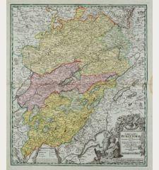 Comitatus Burgundiae tam in primarias ejus praefecturas ...