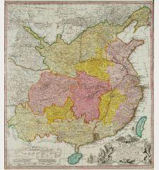 Regni Sinae vel Sinae propriae Mappa ...