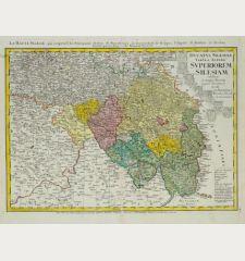 Ducatus Silesiae Tabula Altera Superiorem Silesiam / La Haute Silesie