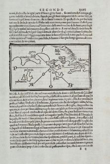Antique Maps, Bordone, Italy, Campania, Napoli, Ischia, 1528-1565: [Campania, Napoli, Ischia, Salerno]