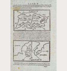 Rhodo, Simie, Scogi di S. Paulo, Asia minore