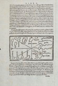 Antique Maps, Bordone, Spain - Portugal, Canaries, Tenerife, Gran Canaria: [Canary Islands]