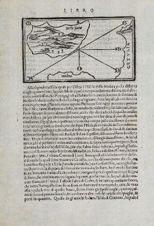 Antike Landkarten, Bordone, Spanien - Portugal, Porto Santo, Madeira, 1528-1565: [Porto Santo and Madeira]
