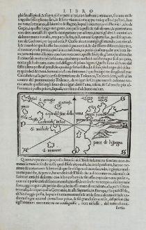 Antike Landkarten, Bordone, Spanien - Portugal, Kapverdischen Inseln und Bretagne: [Cape Verde Island, Bretagne]