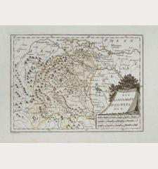 Die Landschaft Bukowina.