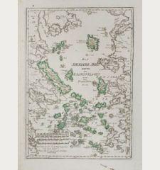 Das Aegaeische Meer Heute der Archipelagus oder das Insel-Meer