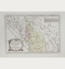 Der noerdliche Theil des Koenigreichs Albanien mit dem Distrikte Montenegro