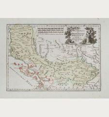 Der Suedliche Theil des Koenigreichs Albanien mit der Landschaft Thessalien.