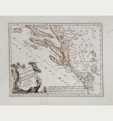 Der südliche Theil des Koenigreichs Dalmatien mit der Republik Ragusa