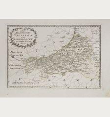 Spezial Karte von des Koenigreichs Galizien und Lodomerien westlichen Kreisen.