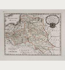 Die königliche Republik Polen mit dem Großherzogthum Litauen.