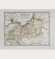 Das Königreich Preussen mit den freien Städten Danzig u Thorn