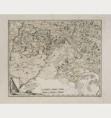 Das Königreich Preussen westsüdicher Teil mit der freyen Stadt Thorn