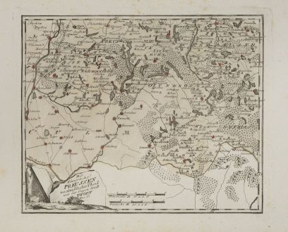 Antique Maps, von Reilly, Poland, Kuyavian-Pomeranian, 1791: Das Königreich Preussen westsüdicher Teil mit der freyen Stadt Thorn