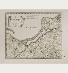 Des Königreichs Preussen nordwestlicher Theil mit der freyen Stadt Danzig