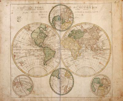 Atlases, Euler, Atlas, 1760: Geographischer Atlas bestehend in 44 Land-Charten, worauf alle Theile des Erd-Creyses vorgestellet werden. Auf Befehl der...