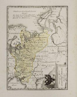 Antike Landkarten, von Reilly, Russland, 1791: General-Karte von dem Russischen Reiche in Europa
