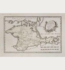 Spezial Karte von dem Königreiche Taurien oder der Halbinsel Krim